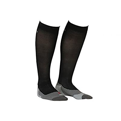 GOCOCO Sports Compression Socks Knee High, Black