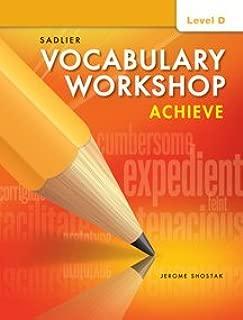 Best vocabulary workshop achieve level d Reviews