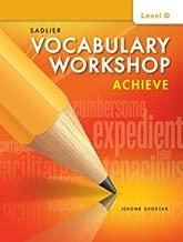 Vocabulary Workshop Achieve Level D Grade 9