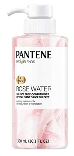 Price comparison product image Pantene Conditioner Rosewater 10.1 Ounce Sulfate-Free (300ml)