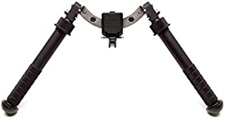 Atlas Bipods Atlas 5 H Bipod-No Clamp-for BT19, ARMS 17S, TRAMP, LT171, Black, BT35-NC