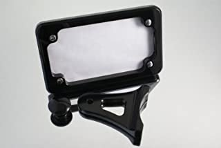 Ransom Machine Works - BL6331-HAY-SM-TAG - Hayabusa License Tag Mount With L.E.D. Light (Black Anodized) Fits: Suzuki Hayabusa 99-up