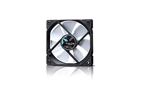 Fractal Design Dynamic X2 GP-14 PWM Ventilador de computadora Negro Edition FDB-Rodamientos Puntales con Forma aerodin/ámica Optimizado para una Alta ventilaci/ón Single 1000RPM 140 mm