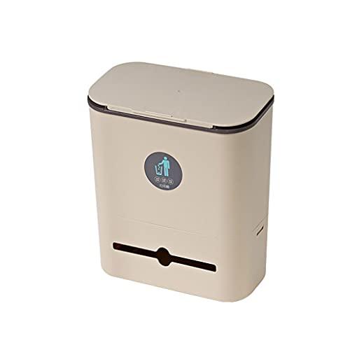 Cestino Cestino a muro può appeso spazzatura scorrevole cestino cestino cestino cestino della porta dell armadio da cucina appeso spazzatura cestino della cestino della cestino della macchina Pattumie