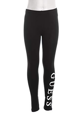 Guess Leggings para niña, color negro