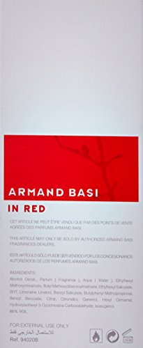 Armand Basi in Red EDT Spray, 3.4 Ounce