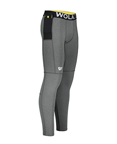 WOLACO Fulton Full Length Compression Pants - Compact Sports Activewear - Made in America