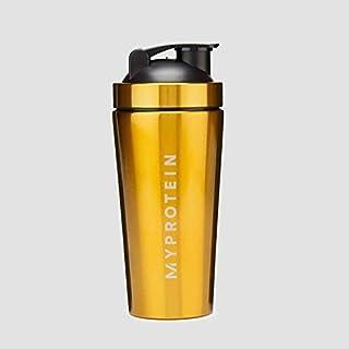 マイプロテイン ゴールデン メタル シェイカー 750ml myprotein golden stainless steel shaker