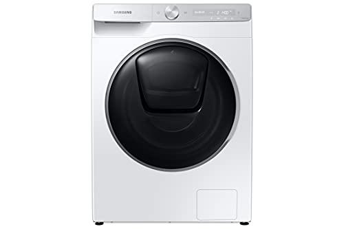 Samsung WD91T984ASH/S2 Waschtrockner, 9+6kg, EEK: A/E (W/W+D), 1400 U/min, QuickDrive, SchaumAktiv, Automatische Waschmitteldosierung + AOW- Programm, AddWash, WiFi, AirWash, Geräuschklasse A