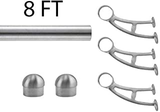 Best copper bar foot rail kit Reviews