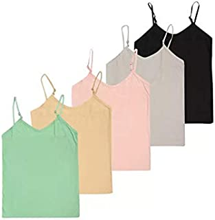 GMR women's cotton camisole (Multicolored ) pack of 5