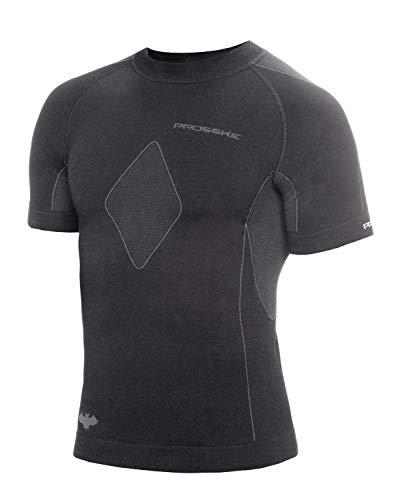 Prosske t-shirt bAT unisexe respirant chemise à manches courtes pour femme XL-XXL Noir - Noir