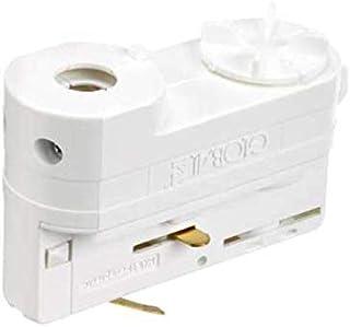 GlobalTrac 3-Phasenstromschiene Anbauadapter Deckenmontage Dose Anbau weiss