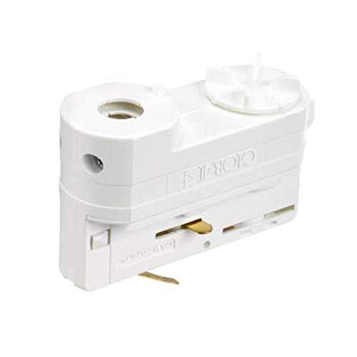 Adapter XTSA 68 | Nordic Global Trac 3 Phasen universal Adapter für Stromschienen - Multiadapter | Grau/Schwarz/Weiß (Weiß)