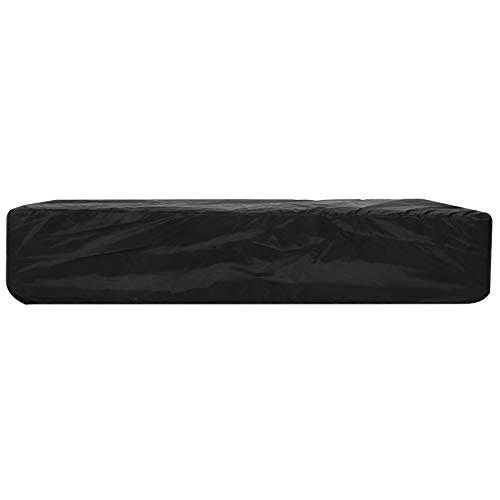 Productos para el hogar Cubierta de teclado de piano electrónico Cubierta de polvo de piano electrónico Cubierta de teclado de piano Impermeable para 61 teclas(black, 61 keys)