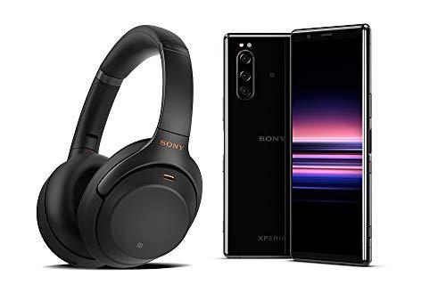 Sony Xperia 5 Smartphone débloqué 4G + Casque WH-1000XM3 - Noir