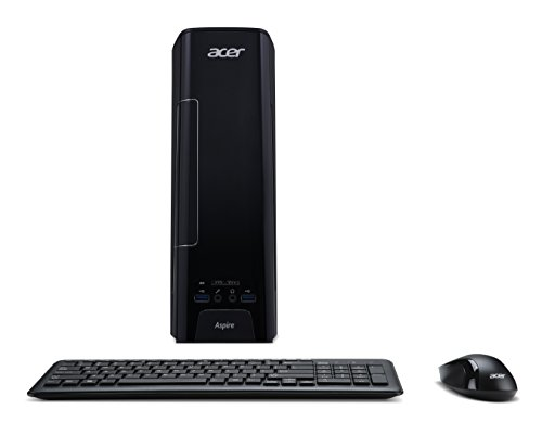 Acer Aspire XC-780 Desktop PC (Intel Core i5-7400, 8GB RAM, 256GB SSD, Intel HD, DVD, Win 10) schwarz