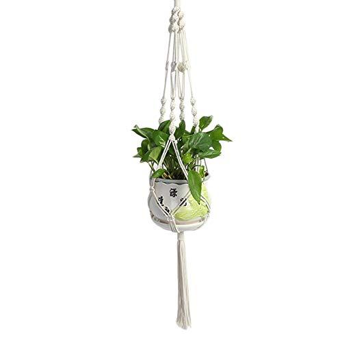 Liteness Jardinera para Colgar Cuerdas, Colgador para Plantas de macramé, Soportes para Plantas...