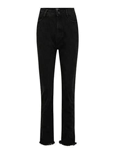 Missguided (Tall) Damen Jeans schwarz 6 (26)