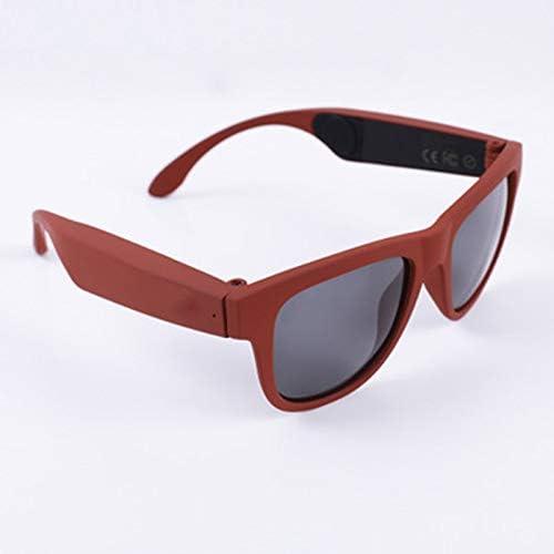 High End Smart Sunglasses Bluetooth Bone Conduction Wireless Headset Microphone Glasses Smart Calling Sunglasses