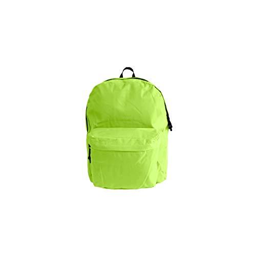 Projects zaino 'Basic Line' – in poliestere resistente – qualità premium – universale per donna, uomo e bambini – leggero zaino da lavoro – 8 colori alla moda, lime (Verde) - 55850.10