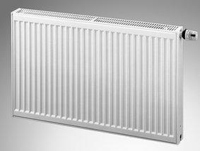Purmo compacte radiator type 11 hoogte 550 mm (variant: Lengte: 900 mm - 55/45° tot 432Watt)