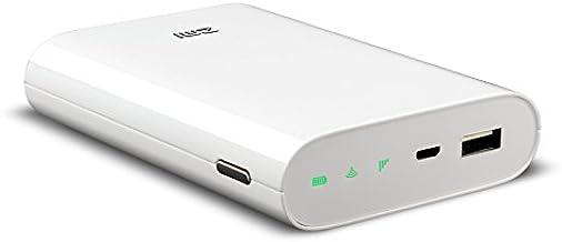 SIMフリーモバイルWi-Fiルーター Battery Wi-Fi MF855 日本版 7800mAh大容量バッテリー搭載