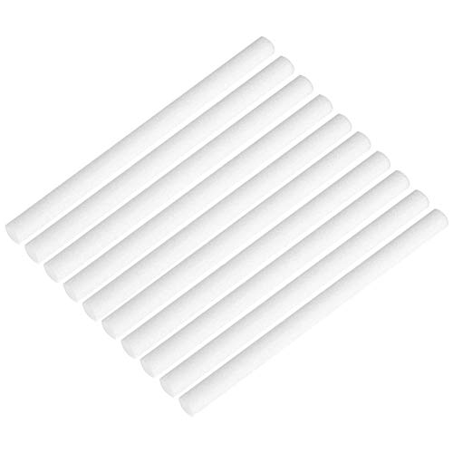 Biitfuu Luftbefeuchter Ersatzfilter, Luftbefeuchter Baumwolle Filtersticks, Filter Ersatz Dochte für tragbare persönliche USB-Luftbefeuchter 10pcs