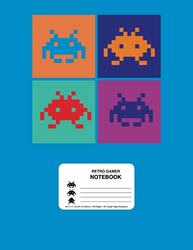Retro Gaming Notebook for Atari Console Fans: Retro Games Journal for Nostalgic...