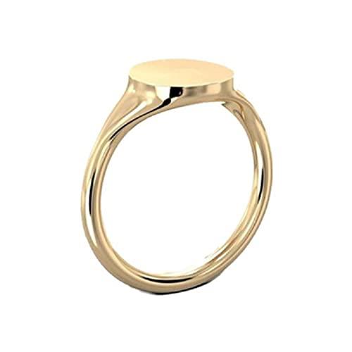 WEUITEE Regalo de amor para la pareja creativa luz proyección amor corazón anillos color dorado liso cobre par nueva joyería anillo de cobre terminal 0 calibre