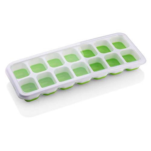 Chinashow Silicone Ice Cube Trays - Les moules Sphère réutilisables Permettent de fabriquer des Cubes Ronds, de Formes variées, Parfaits pour Les Cocktails au Whisky Les Grands bacs à Glace