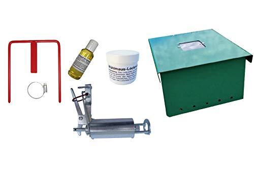 Kieferle Wühlmausselbstschuss W2 Komplettset und Schalldämpferbox