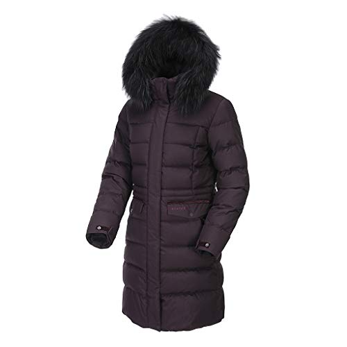 [モンベル] Mont-bell Women`s HANNAHⅢ Down Coat Jacket ハンナⅢ レディースダウンコート ダウンジャケット (バーガンディー, 100(L)) [並行輸入品]