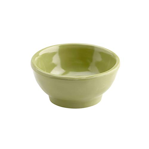 Elite Global Solutions D3C-WWG Ramekin, 3 1/4' Dia. x 1 1/2' h, Melamine, Weeping Willow Green (Pack of 6)