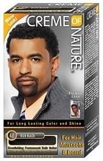 Crema de la naturaleza hombres pelo tinte para cabello, barba ...