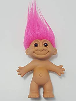 Troll Doll Russ Pink Hair Vintage 90s