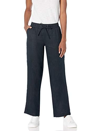 Amazon Essentials Women's Drawstring Linen Wide Leg Pant
