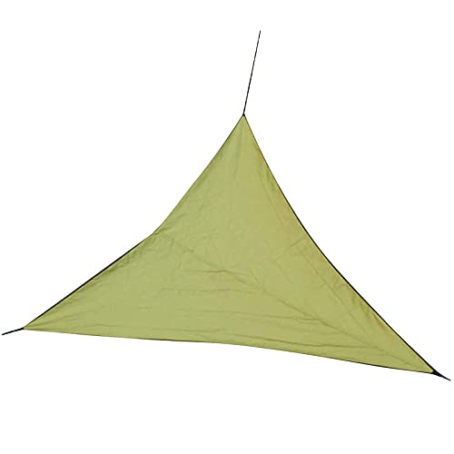 LGLG Toldo impermeable triangular, protección solar, 4 x 4 m (triángulo uniforme), protección UV, resistente a la intemperie y transpirable, para jardín y balcón