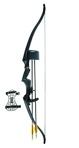 Herbertz Recurve Bogenset für Einsteiger, 115 cm, mit Zubehör