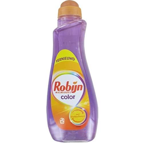 4er Pack - Robijn Flüssig-Waschmittel - Color - 15 Wäschen - 750 ml