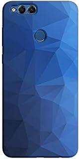 Cover It Up - Blue Ink Pixels هاواوي اونر اكس 7 Hard Case
