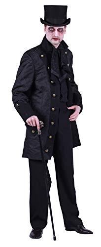 Disfraz de pirata T2688-0100-M para hombre, color negro, talla M = 50