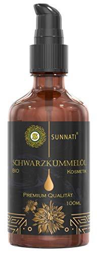 Sunnati® Bio Schwarzkümmelöl Kosmetik für Haut & Haare kaltgepresst 100ml