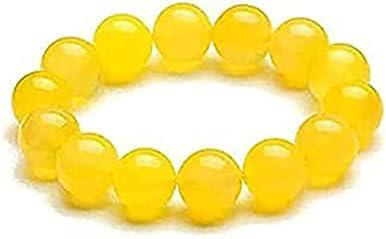 Yellow Jasper Body Cleaning Bracelet Beads 5 ☆ popular Anti-Fatigue Philadelphia Mall En Stone