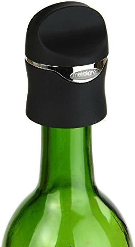 Metrokane Velvet Champagne And Wine Sealer Set Of 2 By Metrokane