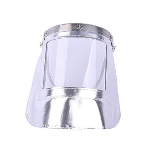 Lassen Vuurvast Masker Gelaatsscherm Vervanging Geschikte Veiligheidshelm Voor Galvaniseren En Polijsten Baan Voor Gieten, Galvaniseren