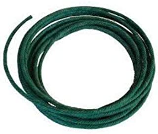 80 feet of 2mm Green Fuse for Model Rocketry, Mini Cannon, Fireworks (4 x 20ft Rolls)