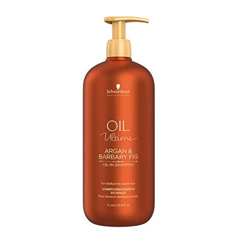 SCHWARZKOPF Oil Ultime Argan & Barbary Fig Oil-In Shampoo, 1000 ml