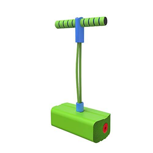 Pogo Sticks Puente De Pogo Pogo Sticks Bungee Jumper Con Cómodas Asas Y Base De ,saltando Producto De Goma Hace Ruido Cuando Se Salta , Juguete Ejercicio Al Aire Libre Niños Adultos ( Color : Green )