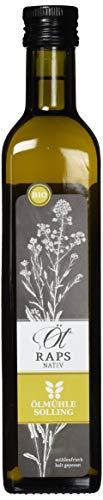 Ölmühle Solling Rapsöl nativ Naturland - BIO, 1er Pack (1 x 500 ml)